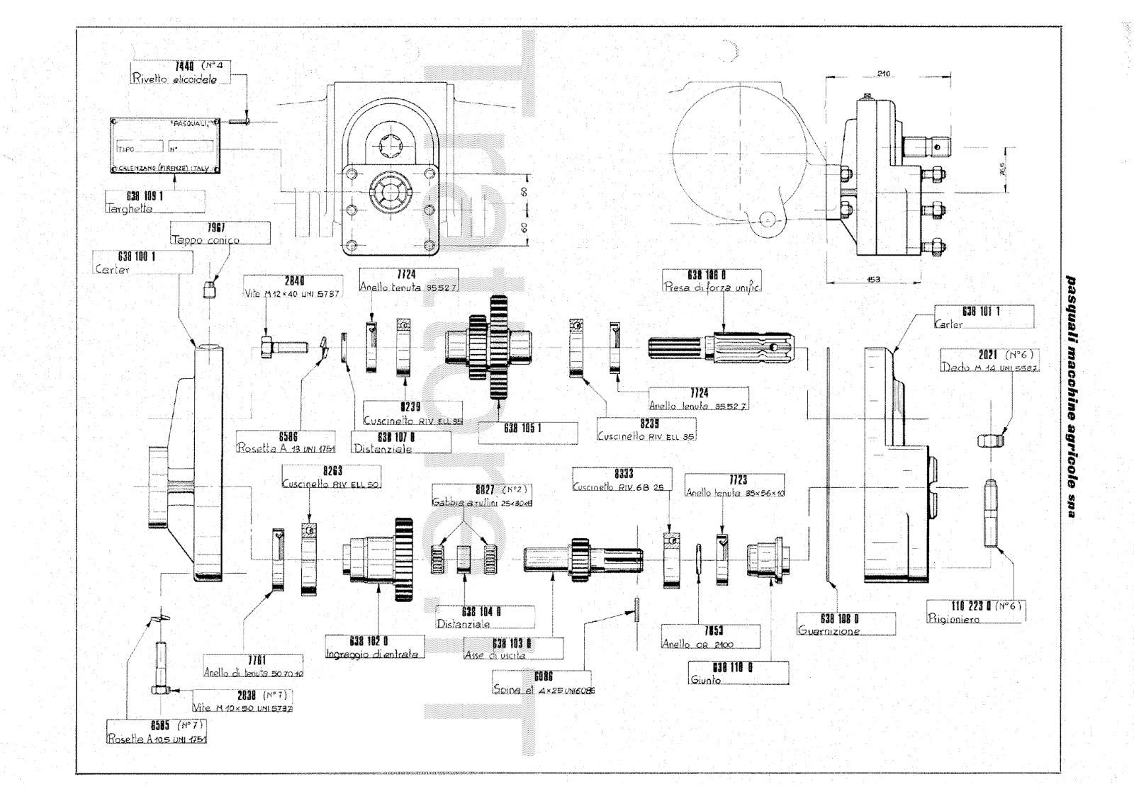 InfoTrattore.it: Moltiplicatore di Forza Pasquali 638