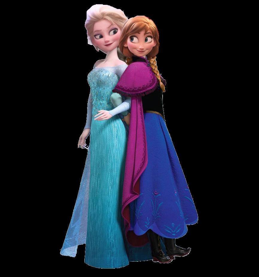 Anna and Elsa (RBTI) Render by Jannodisney