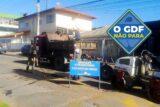 Um trato especial nas praças, escolas e quadras do Guará