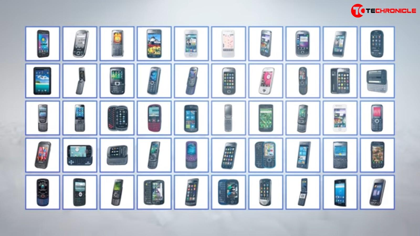 Samsung All Phones Techronicle