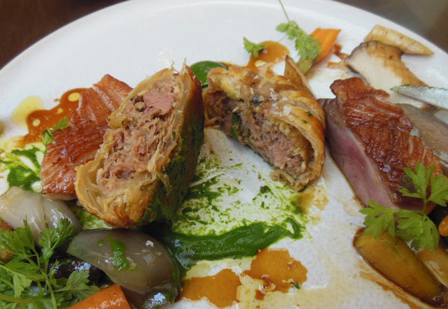 Gallery Restaurant, Ballarat, assiette of duck