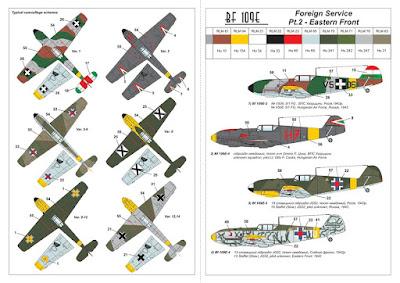 "AR14307 - 1/144 Messerschmitt Bf 109E ""Foreign Service Aces"", Pt.2 picture 4"