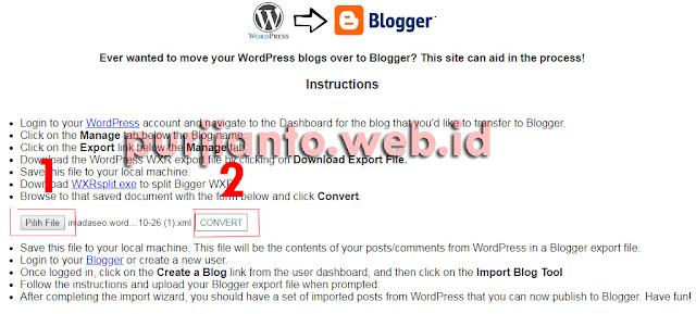 Cara pindah artikel wordpress ke blogspot bagian kedua