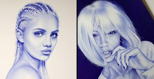 00-Eva-Garrido-Ballpoint-Bic-Pen-Portrait-Drawings-www-designstack-co