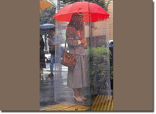 Invenções Bizarras - Super Guarda chuva