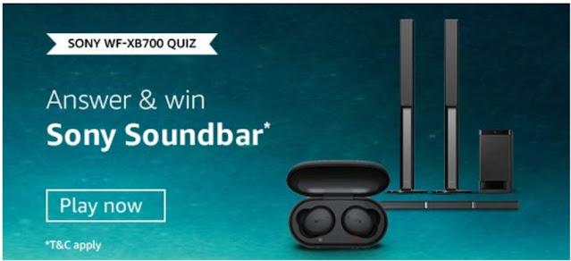 Amazon Sony-WF-XB700 Quiz Answers