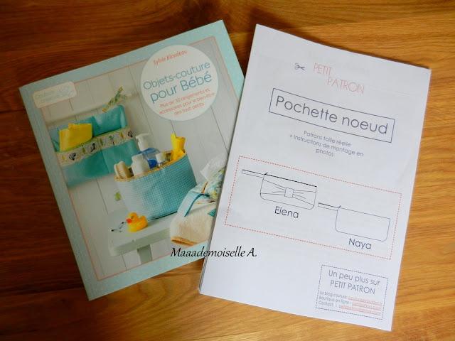 Objets-couture pour Bébé - Kit pochette noeud Petit Patron