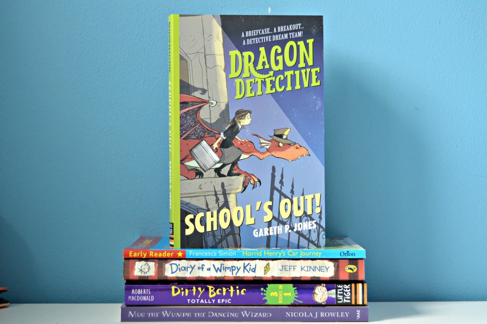 dragon detective schools out