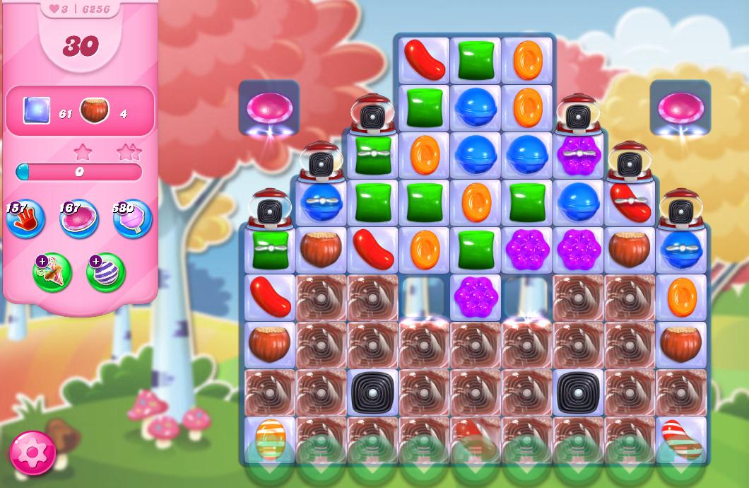 Candy Crush Saga level 6256