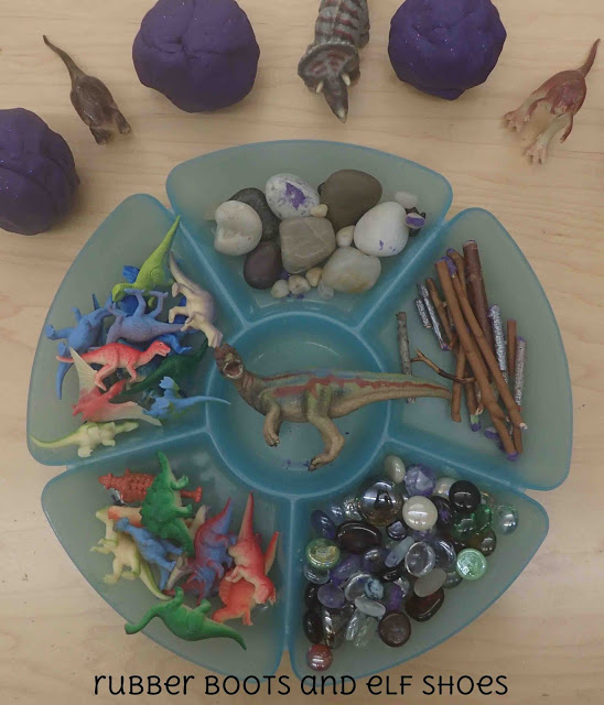 Play Dough And Loose Parts Throughout The Kindergarten Year Rubber Boots And Elf Shoes