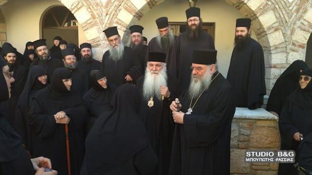 Σύναξη Μοναχών και Μοναζουσών στην Ιερά Μητρόπολη Αργολίδος