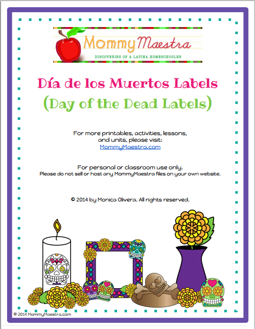 Mommy Maestra Mommymaestra 39 S Day Of The Dead Dia De Los