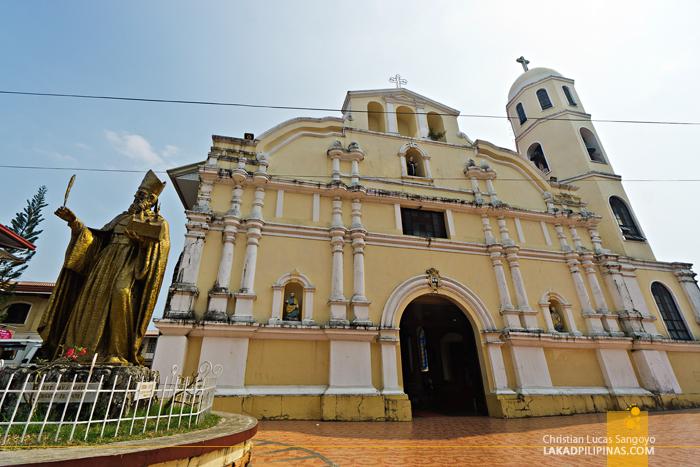 Iba Cathedral Zambales Facade