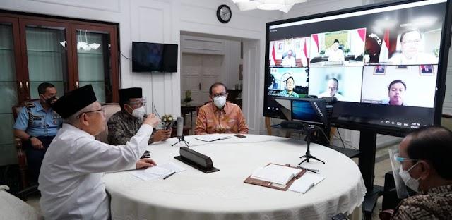 Wapres: Majukan Ekonomi Syariah Nasional Lewat Riset dan Inovasi Teknologi