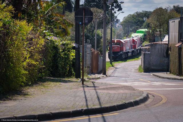 Olha o trem, no São Lourenço