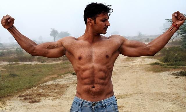 السر لإضافة العضلات