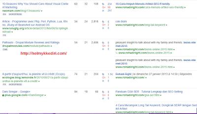 Cara mengetahui backlink website 1