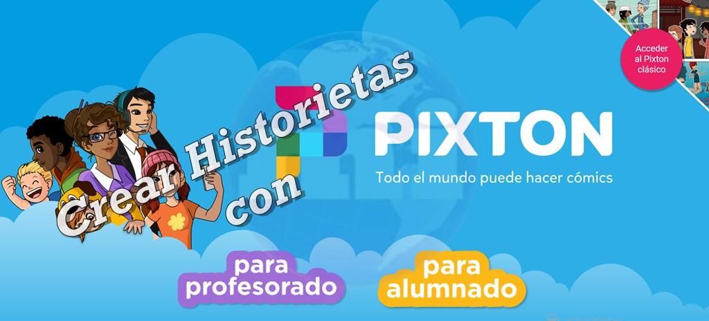 crear comic historietas con Pixton