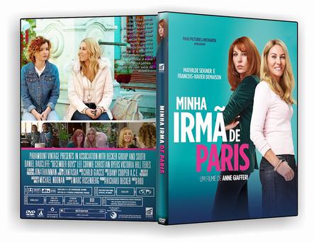 DVD Minha Irmã de Paris 2020 DVD-R AUTORADO