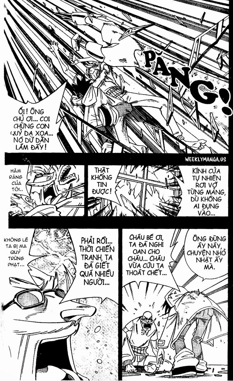 Shaman King [Vua pháp thuật] chap 168 trang 11