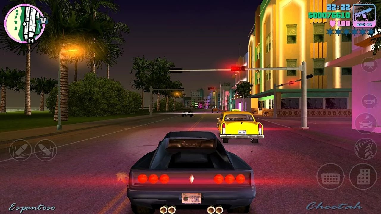 Grand Theft Auto: Vice City v1.03 Apk + Data