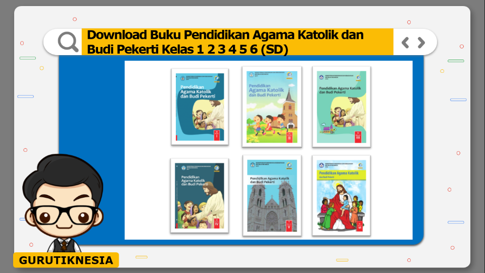 download gratis buku pdf pendidikan agama katolik sd