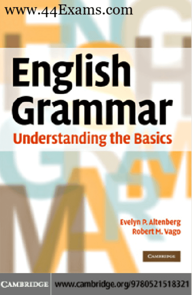 English-Grammar-Understanding-the-Basics-by-Robert-M-Vego-For-All-Competitive-Exam-PDF-Book