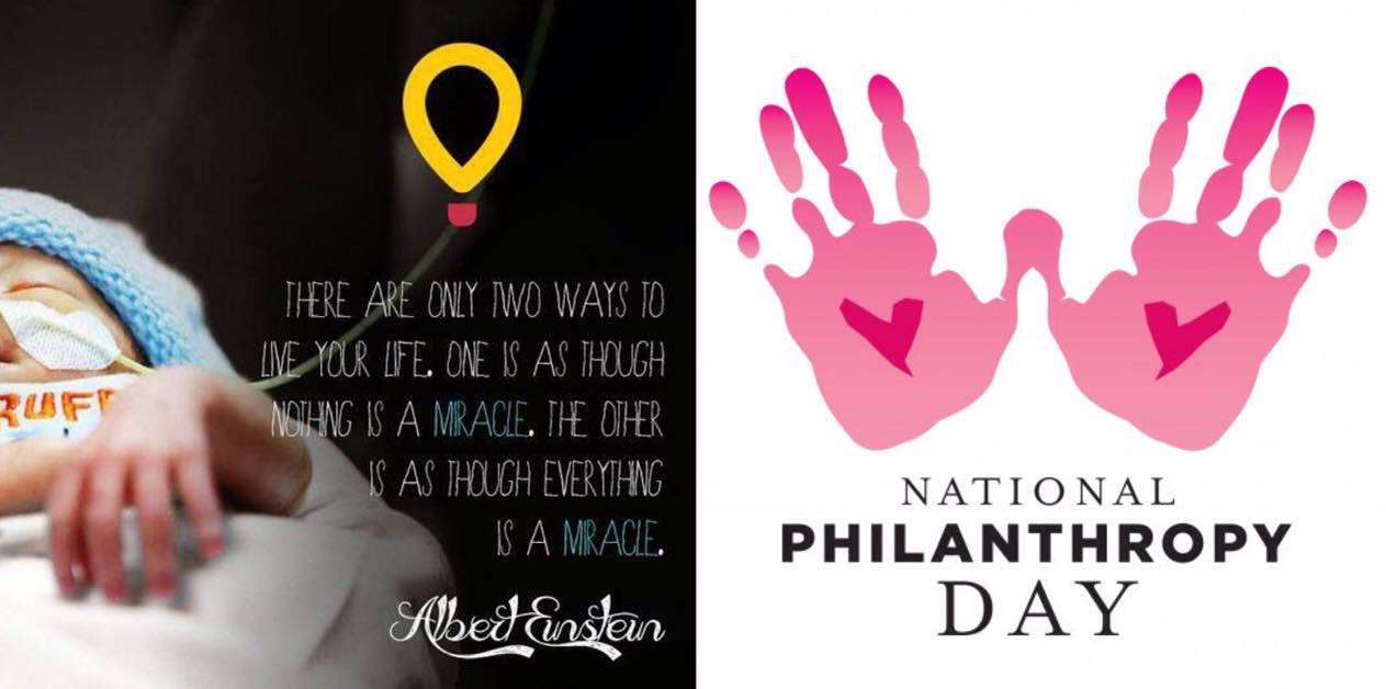 National Philanthropy Day Wishes