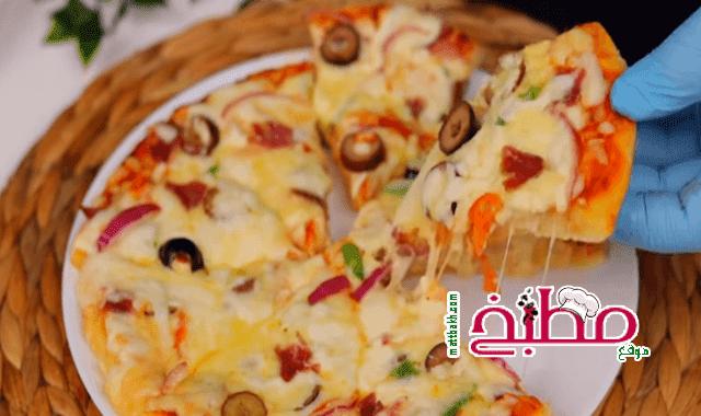 هبة ابو الخير بيتزا الطاسة