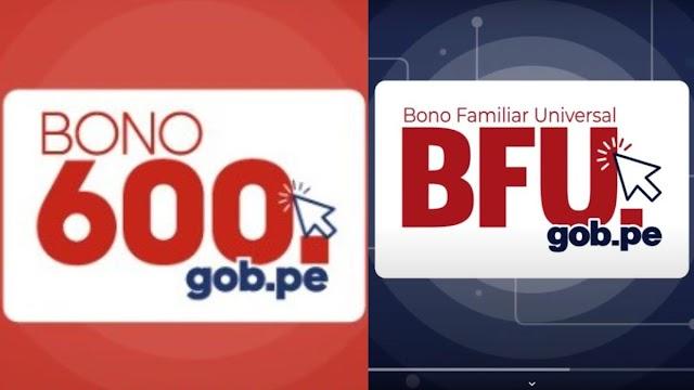 Plan de entrega para los Bonos 600 Soles y BFU
