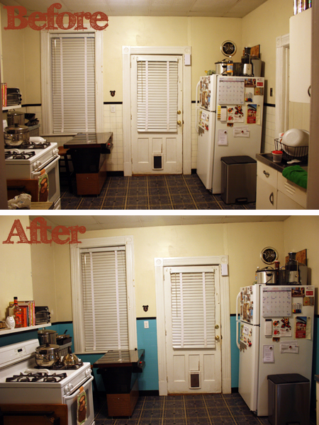 Kitchen Color Schemes  White And Black