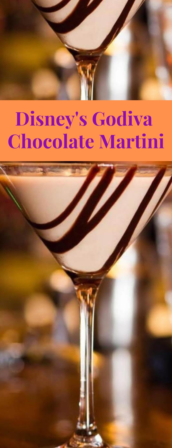 Disney's Godiva Chocolate Martini #DRINK #COCKTAIL