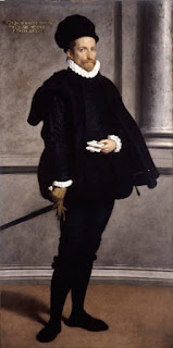 Moroni's portrait of Bernardo Spini, a nobleman from his home town of Albino