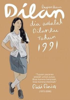 Download ebook Novel Dilan Bagian Kedua: Dia Adalah Dilanku Tahun 1991 by. Pidi Baiq pdf