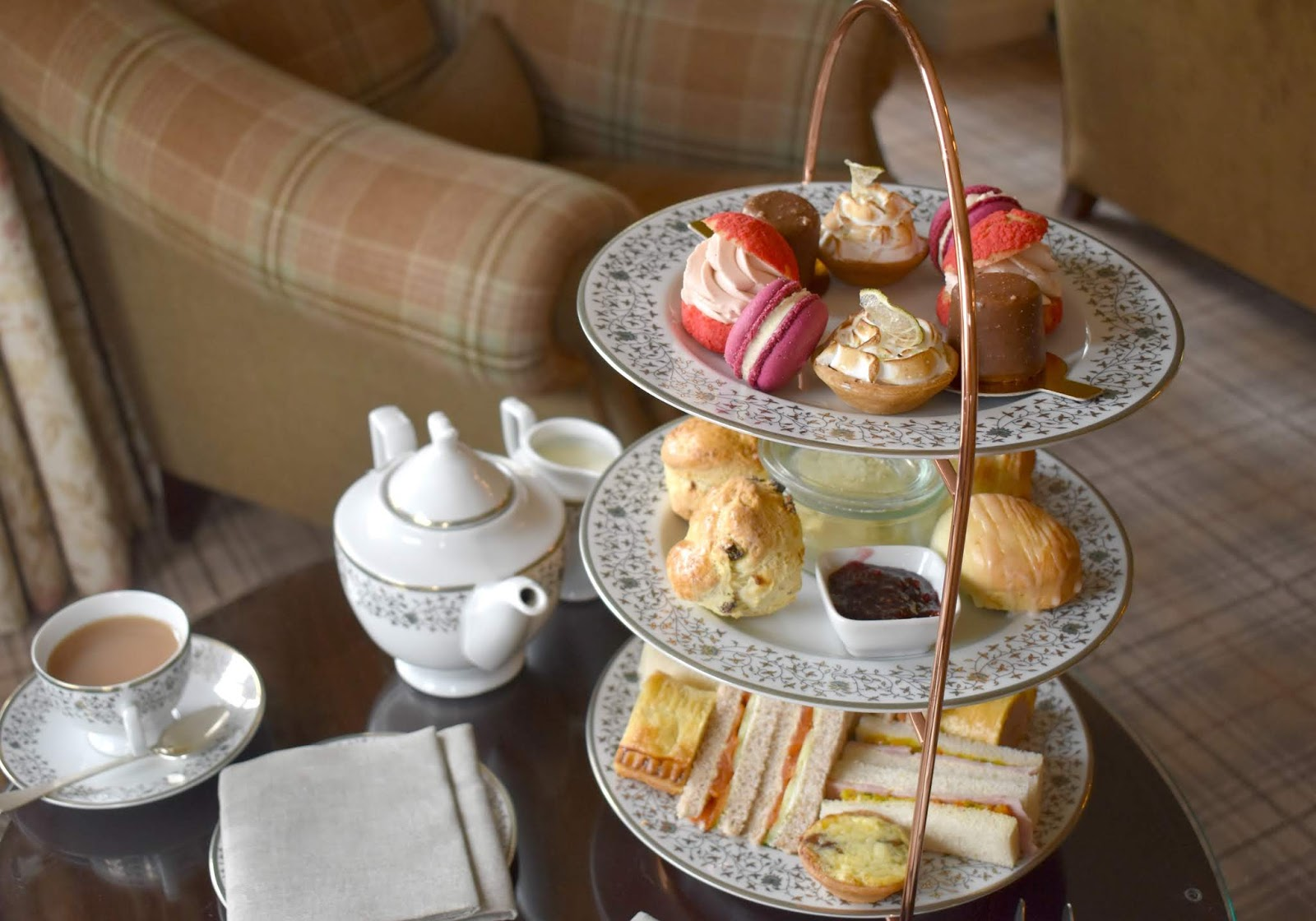 Afternoon Tea at Walwick Hall Hotel Northumberland - Review