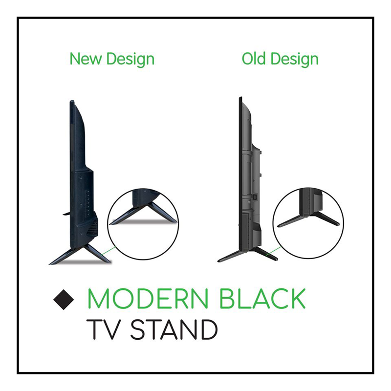 More stability with improved TV stand