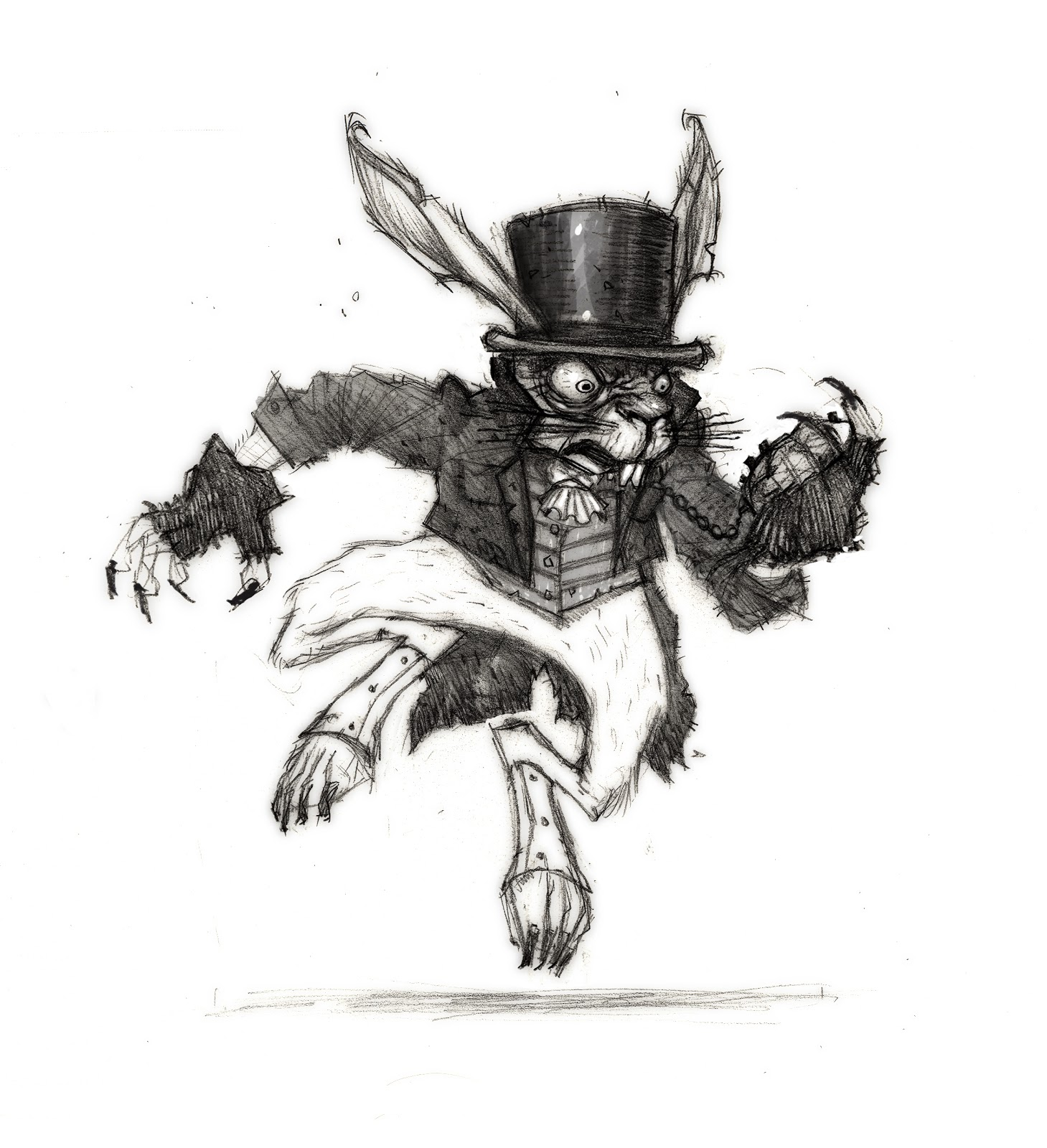 Subterranean Treasure Hunt My Concept Art From The Alice