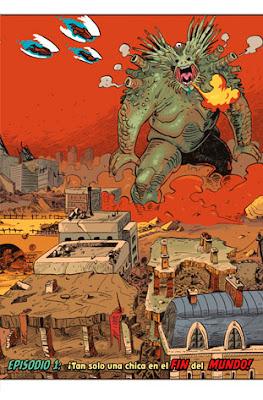 páginas de Apocalypse Girl, de El Torres y Ramiro Borrallo