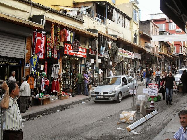 tiendas callejeras estambul