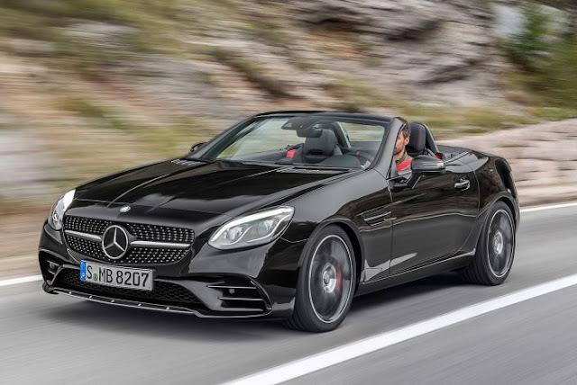2017 Mercedes-Benz SLC Roadster Reviews