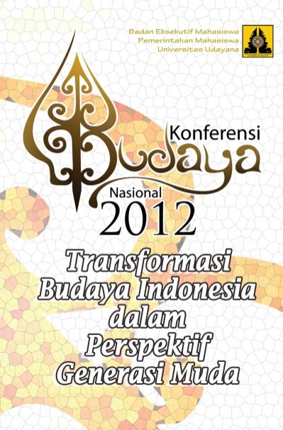 Buku Konferensi Budaya Nasional (KBN) Bali