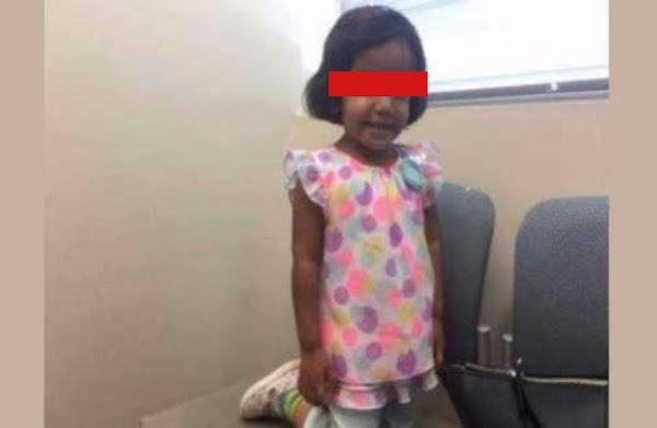 Castigó a niña de 3 años ' abandonándola en la calle  por '15 minutos; Salió a buscarla y ya no la encontró