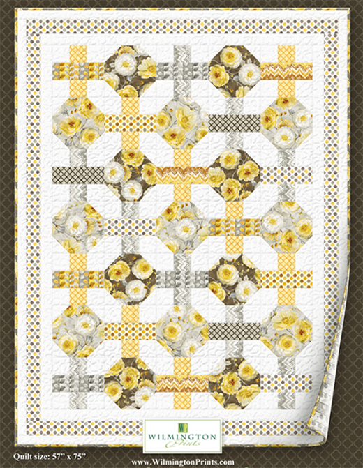 Sunshine Quilt designed by Lisa Audit for Wilmington Prints
