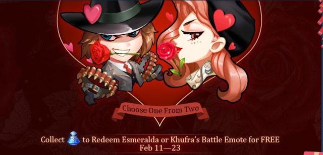 Cara Mendapatkan Skin Epic dan Elite Mobile legends Event Valentine Februari 2020