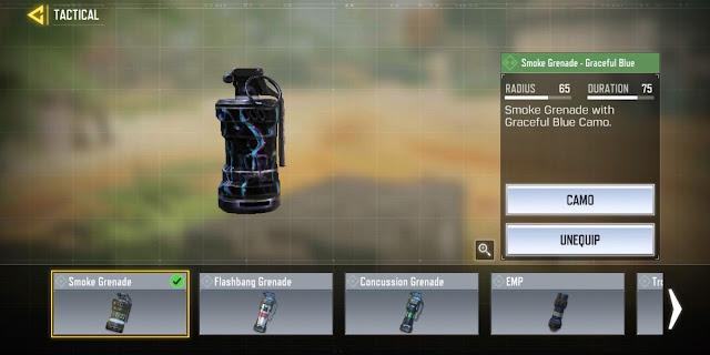 COD Mobile - Smoke Grenade