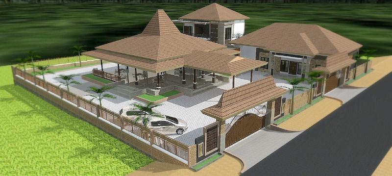 Jasa Desain Rumah Joglo di Solo Yogyakarta  Jasa