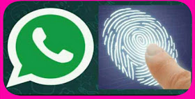 Fingerprint lock feature for whatsapp useres