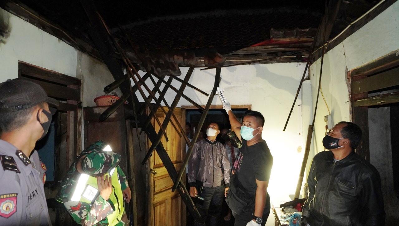 Rumah Warga Alian Kebakaran, Polisi Temukan Tiga Titik Korsleting Listrik