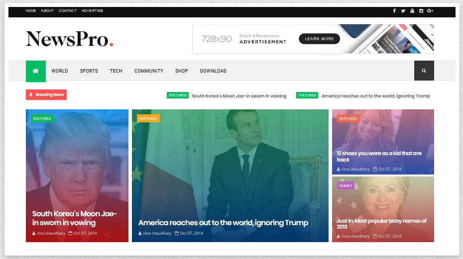 Optimized Blogger Templates 2020 Responsive & High CTR