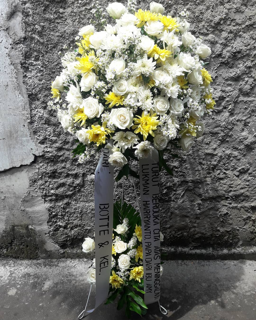 Karangan Bunga Standing Flowers 022